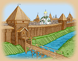 Пронские ворота Рязани