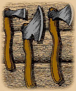 Топор - универсальное орудие рязанского плотника